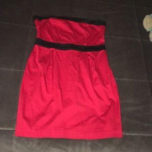 Forever 21 strapless mini dress size medium